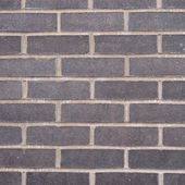 Black brick wall composition — Stock Photo