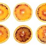 Orange fruit slice isolated — Stock Photo #27708479