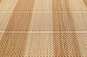 Bamboo straw background mat — Stock Photo