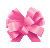 Gift ribbon bow isolated — Stock Photo