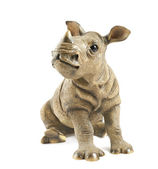 Rhinoceros rhino sculpture — Stock Photo