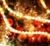 Festive Christmas background — Stock Photo