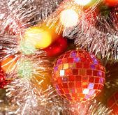 Slavnostní vánoční pozadí — Stock fotografie