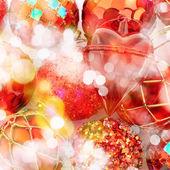 Festlig jul bakgrund — Stockfoto