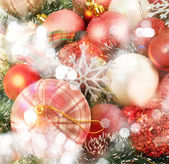 Festive Christmas background — Stock Photo
