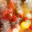 Festive Christmas background — Foto Stock