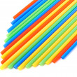 Drinking straw background — Stok fotoğraf