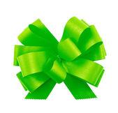 Gift ribbon bow isolated — Stock Photo
