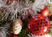 Feestelijke kerst achtergrond — Stockfoto