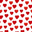 Stock Photo: Seamless heart background pattern