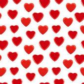 Seamless heart background pattern — Stock Photo