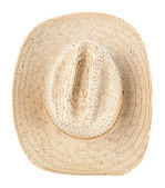 Straw hat isolated — Stock Photo