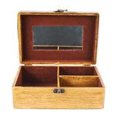 老式木制棺材 — 图库照片