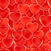 Seamless heart background pattern — Stock Photo