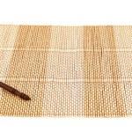 Chopsticks over a bamboo mat — Stock Photo #29646545