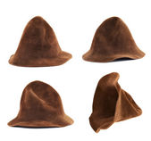 Brown hat isolated — Stock Photo
