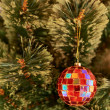 Stock Photo: Seasonal Christmas decoration background