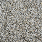 Gravel covered surface — Stock Photo