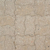 Stone brick path fragment — Stock Photo
