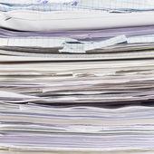Pile de feuilles de papier — Photo