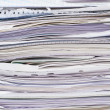 Stack of paper sheets — Stock Photo