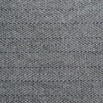Striped black and white cloth — Stock Photo