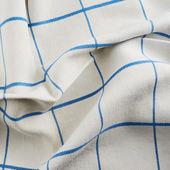 折痕的桌布布料 — 图库照片