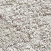 White shaggy carpet — Stock Photo