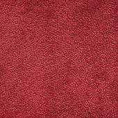 Dark red color towel cloth — Stock Photo