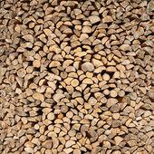 Wooden logs cut composition — Foto Stock