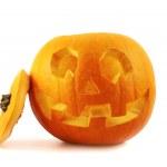 Jack-o'-lanterns pumpkin isolated — Stock Photo