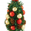 Small christmas tree decoration — Stock Photo