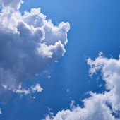 Clouds on the blue sky — Stock Photo
