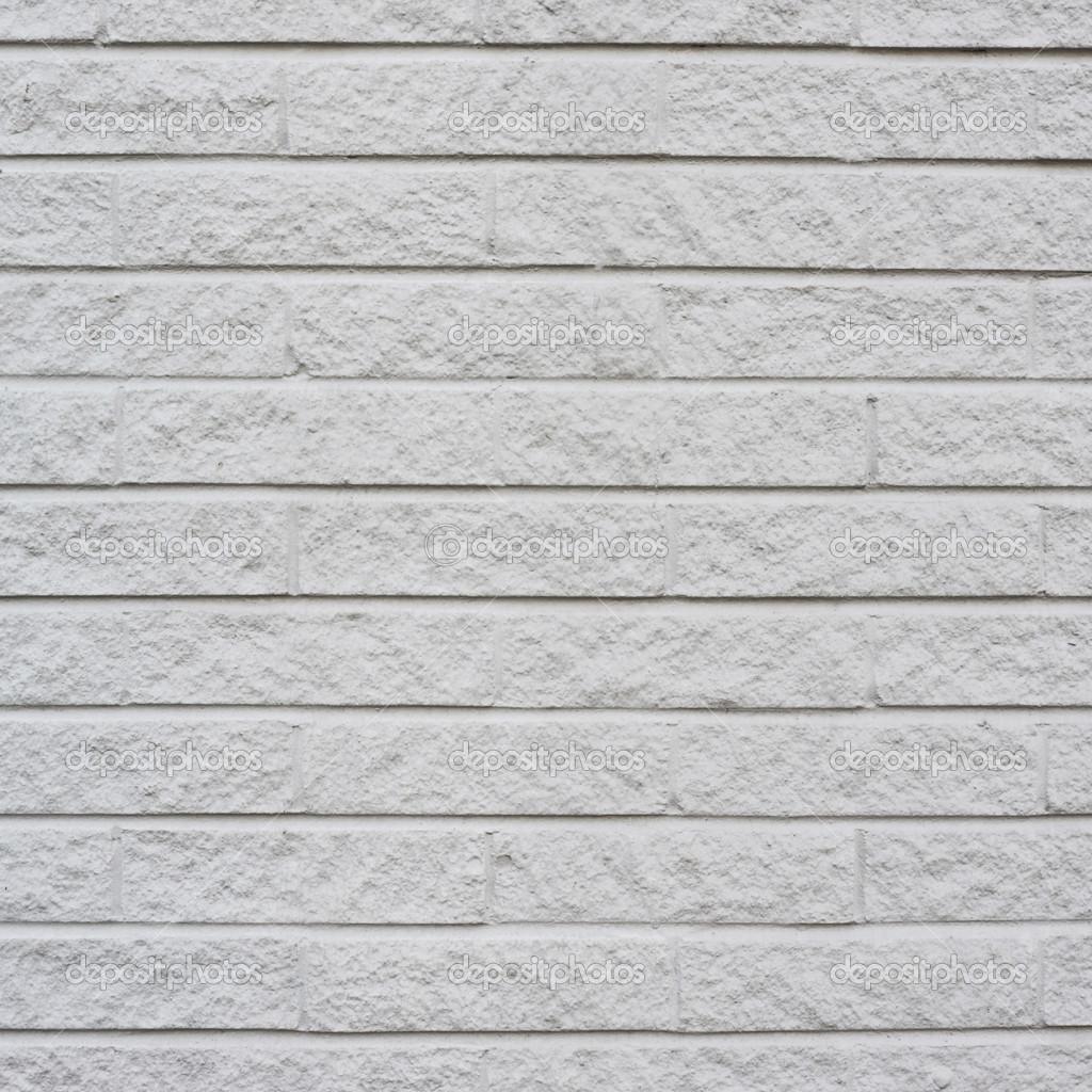 White Painted Brick Wall Fragment Stock Photo Exopixel