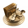 Paper and card metal holder — Stock Photo #34757179