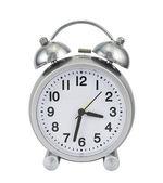 Mechanical alarm clock isolated — Stock Photo