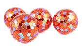 Decoration christmas ball composition — Stock Photo