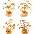 Tree statuette made of amber — Stock Photo #38447251