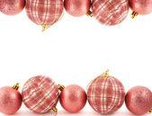 Christmas decoration copyspace background — Stock Photo