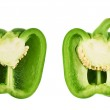 Sweet bell pepper isolated — Stock Photo #41569371