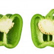 Sweet bell pepper isolated — Stock Photo