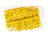 Cornstick corn on the cob in a packaging — Stock Photo
