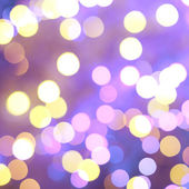 Violet bokeh lighs — Stock Photo