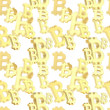 Seamless background made of bitcoin signs — Stock Photo #47073189