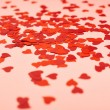 Heart shaped confetti — Stock Photo #47498595