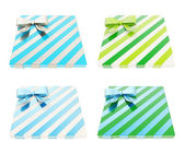 Wrapped gift boxes — Foto de Stock