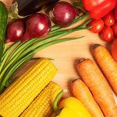 Multiple vegetables — Stock Photo