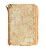 Old decrepit book cover — Stock Photo