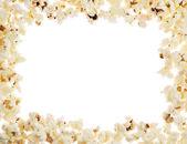 Frame made of popcorn — Stock Photo