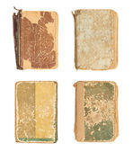 Old decrepit books cover — Stock Photo